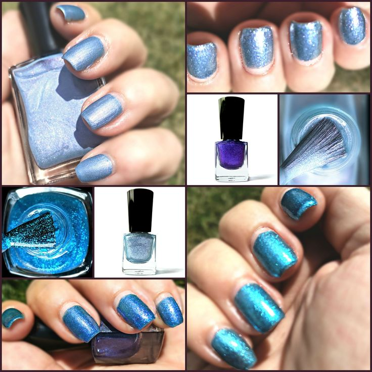 Shades of blue nail polish from TGIY's Enchanted Forest Collection. Vegan, c…