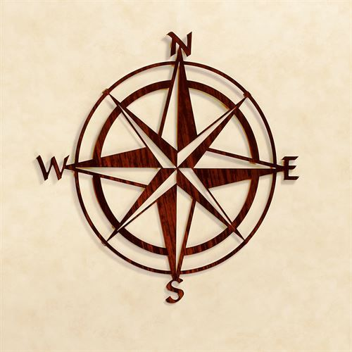 Compass Rose Wall Sculpture