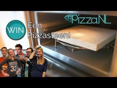 Pizza bakken met een Pizzasteen- Pizza.NL - YouTube