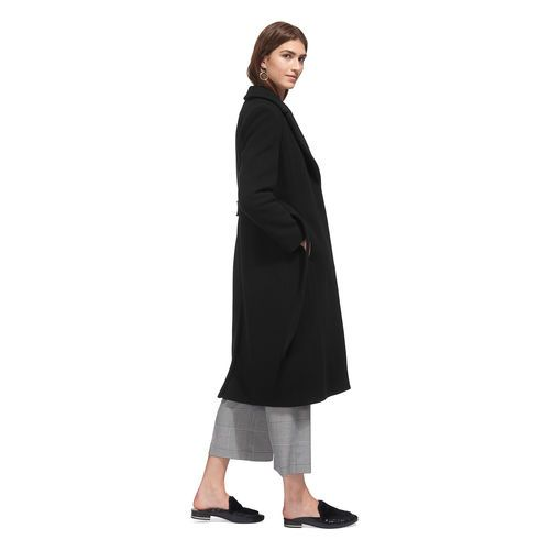 Alexandra Belted Coat, in Black on Whistles