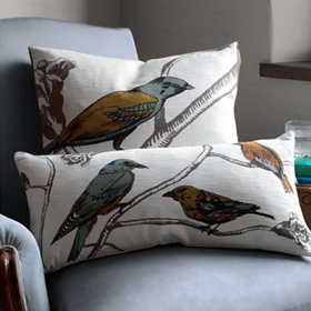 Chinoiserie Pillows by DwellStudio. Available at Linenplace.