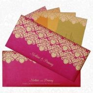 King of Cards India Private Limited offers stylish & multi-coloured Muslim wedding invitation cards with designer patterns & metallic finish to suit your unique preferences. Visit their site today for exclusive collection of Muslim wedding cards at lowest prices. They offer free card shipping across India.