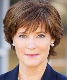 short hairstyle for women over 50...