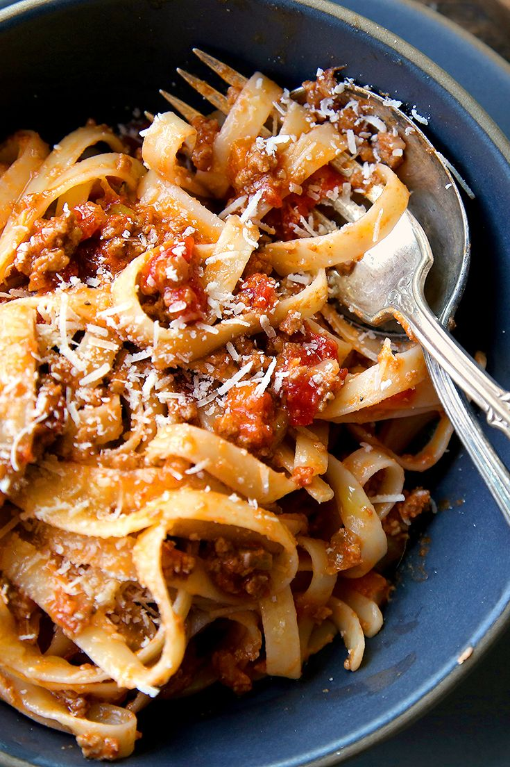 """After the death in 2013 of Marcella Hazan, the cookbook author who changed the way Americans cook Italian food, The Times asked readers which of her recipes had become staples in their kitchens. Many people answered with one word: """"Bolognese."""" So here it is. (Photo: Jim Wilson/The New York Times)"""