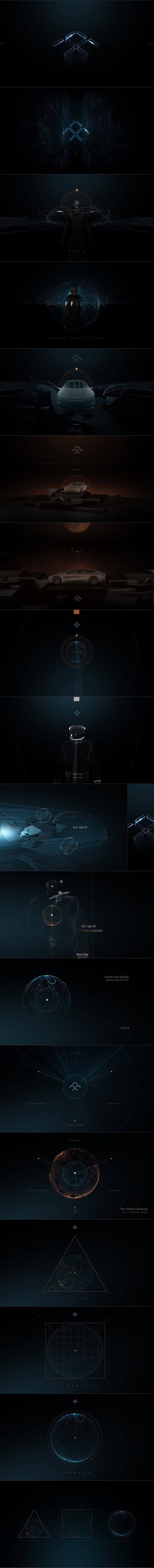 Faraday Future - Interactive design concepts by Eric Jordan [Set 1] #design #webdesign #website