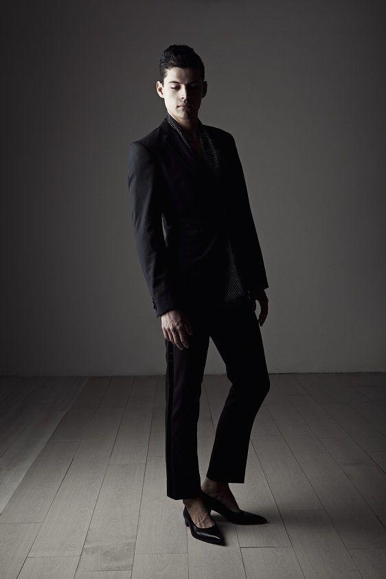 Aki Choklat Privé, Ernest, Photo: Ruggero Mengoni  Model: Stefan Fugger Styling Assistant: Satu Saarno Florence, Italy. #akichoklat #shoe #footwear #mensshoes #mensfootwear #mensfashion #black #leather http://www.akichoklat.com/