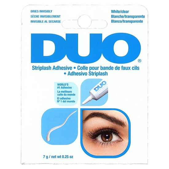 duo eyelash glue white clear