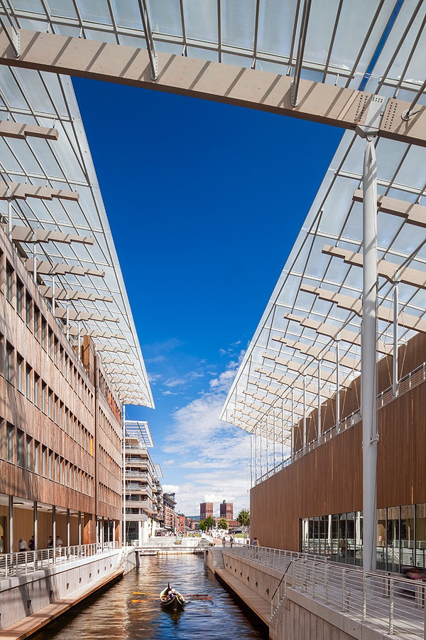 the Astrup Fearnley museum for contemporary art