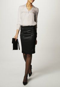 KIOMI - Blyantnederdel / pencil skirts - black