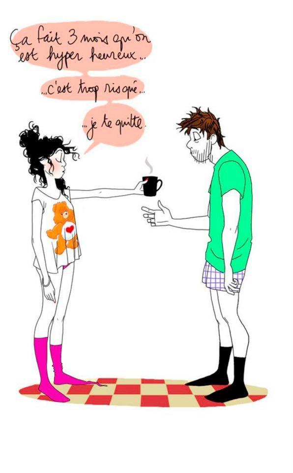 - amour heureux et risqué by Margaux Motin -