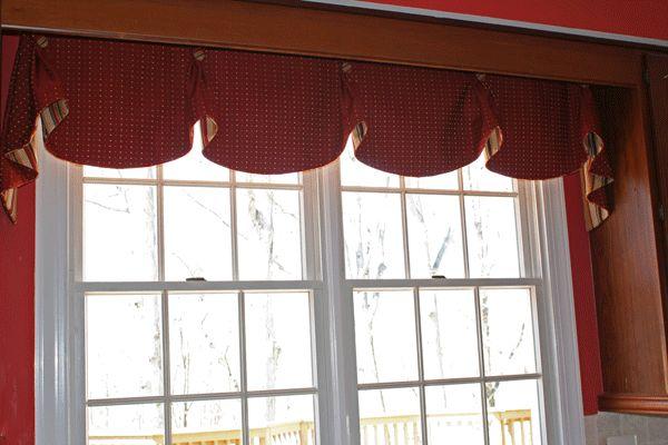 Red Curtains Kitchen Window Treatments Wood Kitchen Curtains Window