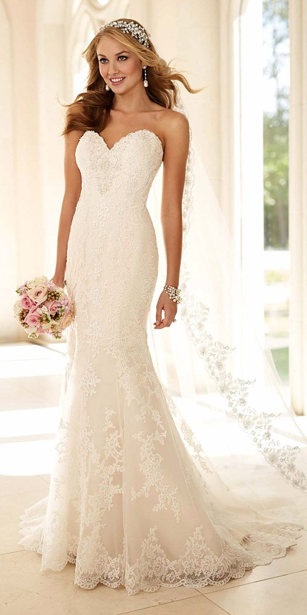 Best 25  Strapless wedding dresses ideas only on Pinterest ...