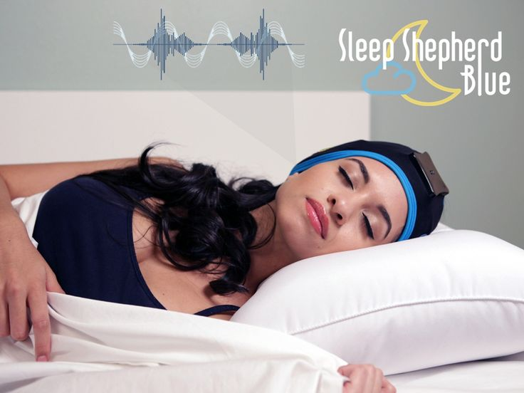 The Sleep Shepherd Blue uses brainwave sensors and binaural beats in a biofeedback loop to improve sleep quality and tracking accuracy.