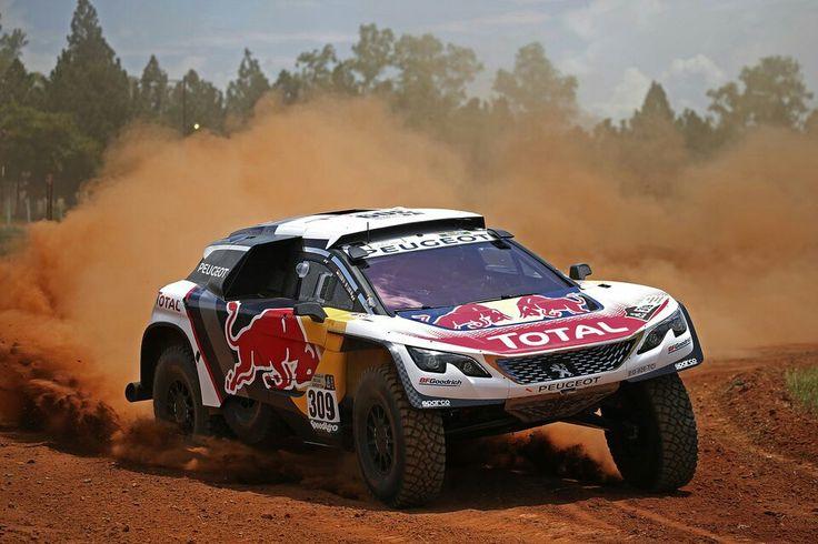 #Dakar2017 #3008DKR