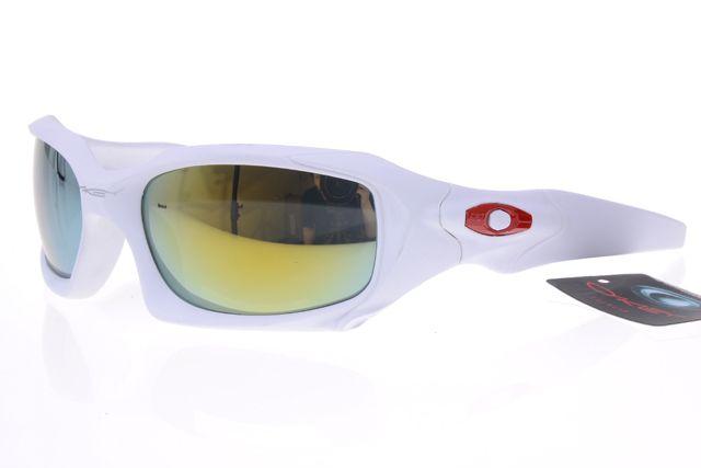 Oakley Gascan Sunglasses White Frame Colorful Lens 0507