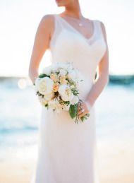 Seaside Chic Wedding Inspiration at Watsons Bay - Style Me Pretty