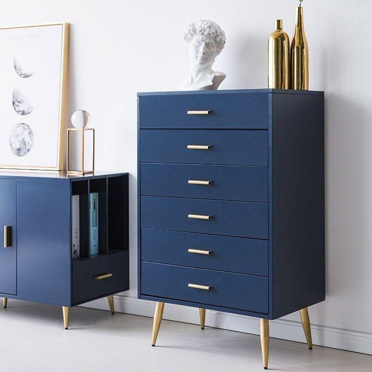 Best 4 Drawer Chest Dresser Storage Chest Green Blue Accent 400 x 300