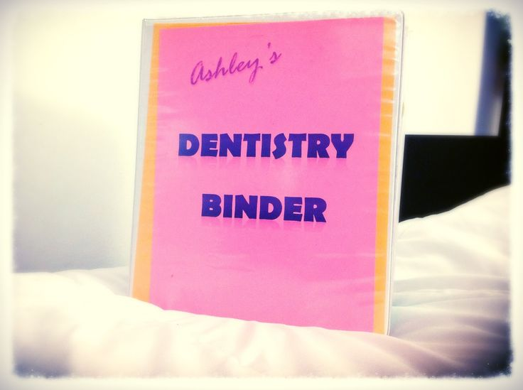 My Journey through Dentistry Staying Organized Throughout