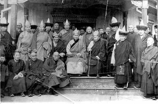 Buddhist mongol clergy were among the victims of the pro-stalinist purges led by mongol leader Choibalsan in 1930's, with maximum height in 1937-1939.