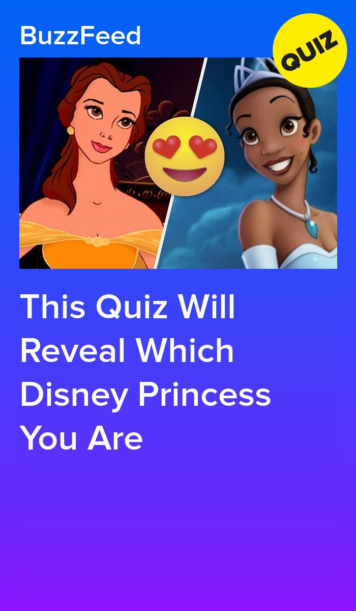 what princess are you quiz