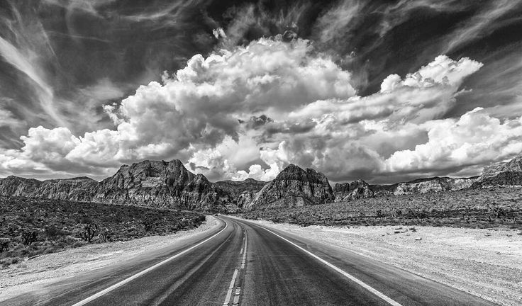 "Featured Photo from the Fstoppers Community - Title: Big Clouds Photographer: Phillip Bolden — ""East of Vegas in Red Rock Canyon."""