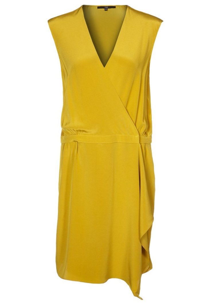 Vestido camisero - Tibi ☼ Zalando ☼ Amarillo ☼