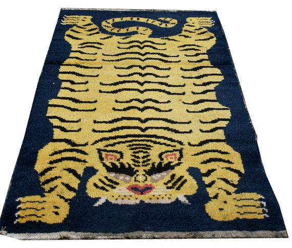 42 Best Images About Tibetan Tiger Rugs On Pinterest
