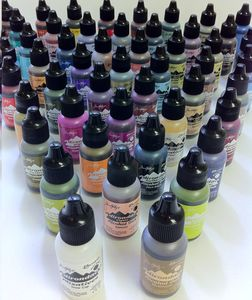 You can get some of the coolest effects with this Alcohol Ink by Ranger!