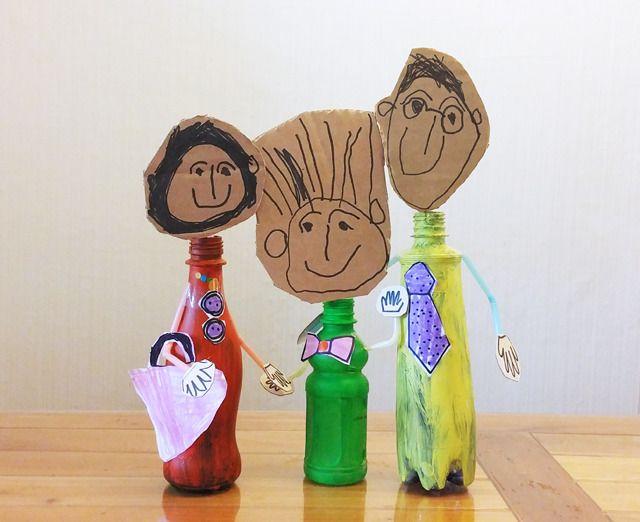 빈 페트병을 활용한 미술놀이 :: 너랑 나랑 그리는 그림 by Enid & Cherryyang