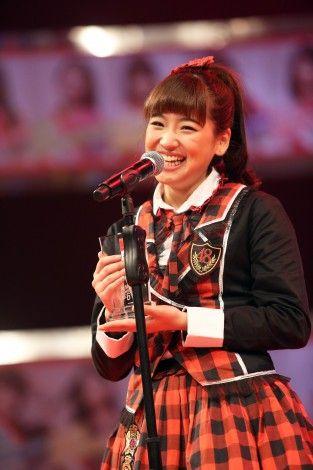 Haruka Nakagawa , Kaigai Member JKT48 #1StSousenkyo #JKT48