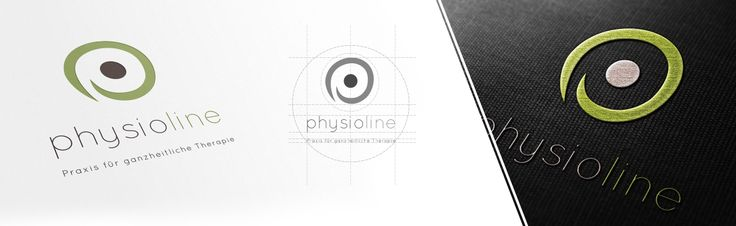 Logo- und CI-Entwicklung für Physioline, einem Betreiber von Physio-Studios.