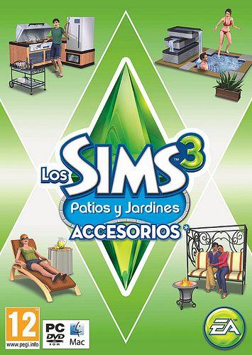 Los Sims 3 Patios y Jardines