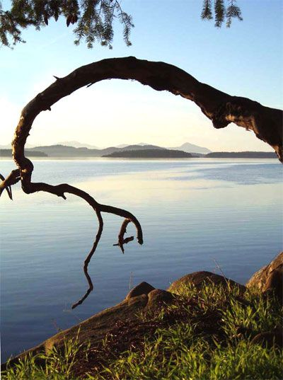 Galiano Island, BC... From here, you can see everywhere. exploreBC exploreGaliano #galianoisland www.galianoinn.com