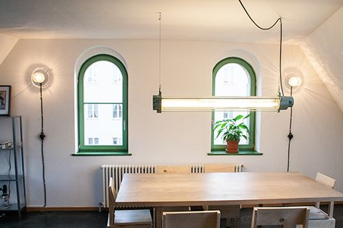 Javan Rhino | Heavy Industrial Fluorescent Tube Pendant
