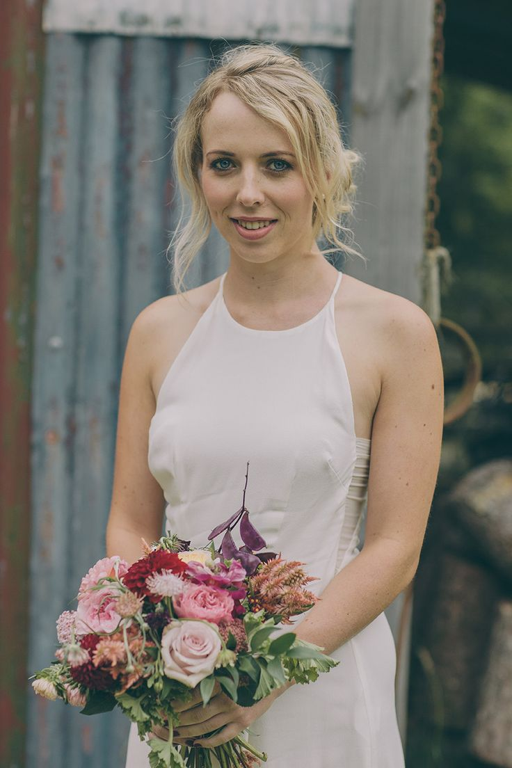 How great does Lauren look in our Slip Dress made for Michaela's Wedding!