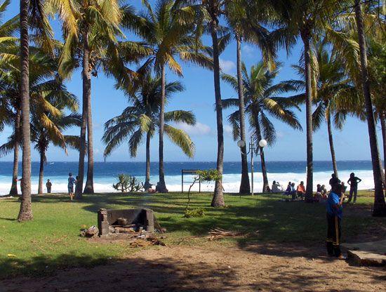 Pique nique à Grande Anse, Petite Ile, Destination Sud Réunion