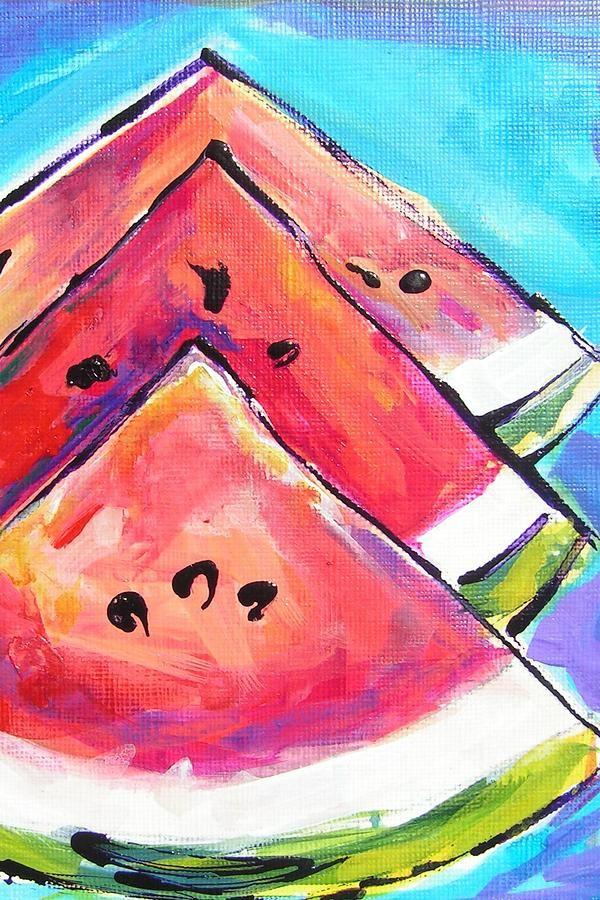 Triangulations Painting By Judy Rogan