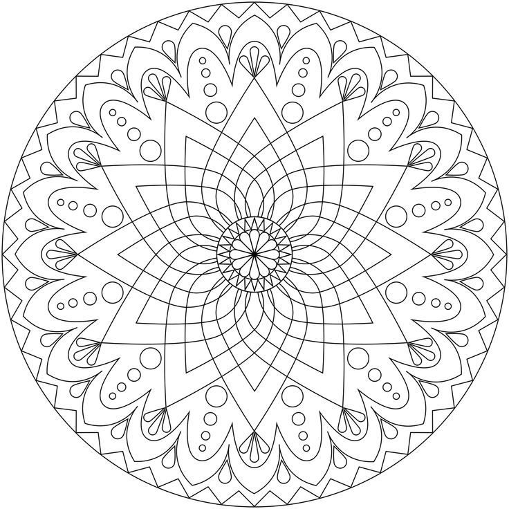 masculine mandala coloring pages
