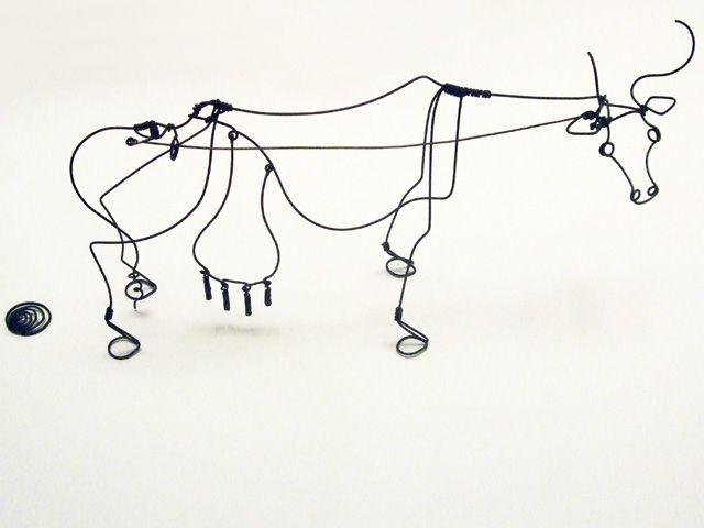 Cow Wire Art - WIRE Center •