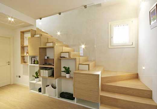 40 Model Tangga Kayu Minimalis, dan Modern | Desainrumahnya.com