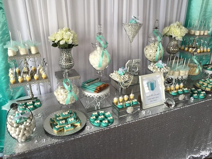 """276 Likes, 2 Comments - Sweet Tooth Candy Buffets © (@swttoothbuffets) on Instagram: """"#TBT Tiffany & Co. Quince """""""