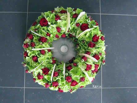 bloemstuk met hydrangea