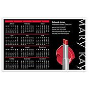 Calendario magnético con color labial