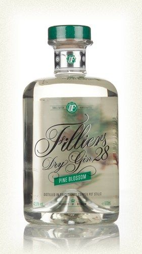 Belgian Gin > Filliers Jenever Gin And Whisky Distillery > Filliers' Dry Gin 28 Pine Blossom Filliers' Dry Gin 28 - Pine Blossom (50cl, 42.6...