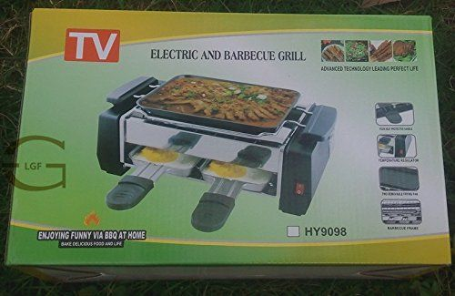 TV Electric And Barbecue Grill