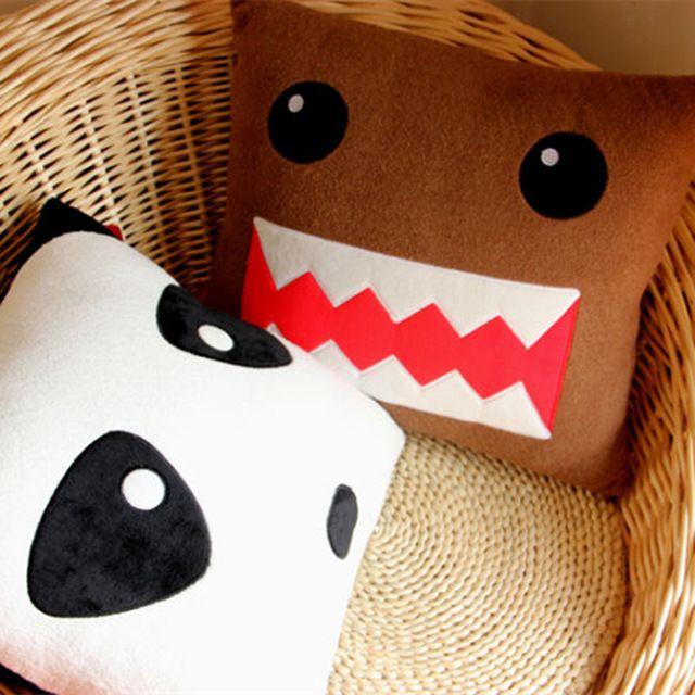 Domokun plush toys cute Funny Domo-kun pillow Children Novelty Creative Gift Kawaii Domo Kun stuffed plush toy Dolls For Kids