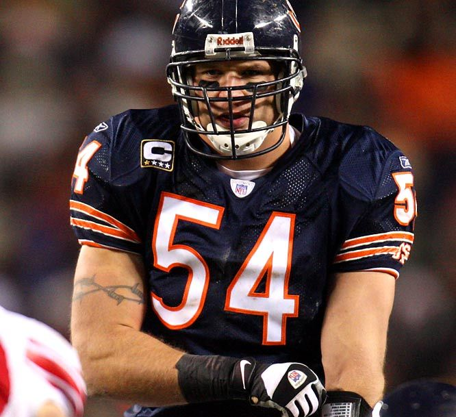 Brian Urlacher - I went to the same high school in Lovington, NM long before Brian. What he has done to improve that little town is admirable.