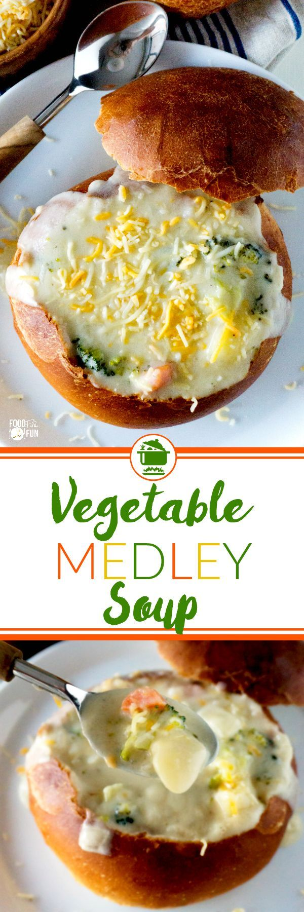 This Vegetable Medley Soup is a family favorite for over 15 years! It's easy to make, feeds a crowd, and simply comforting.