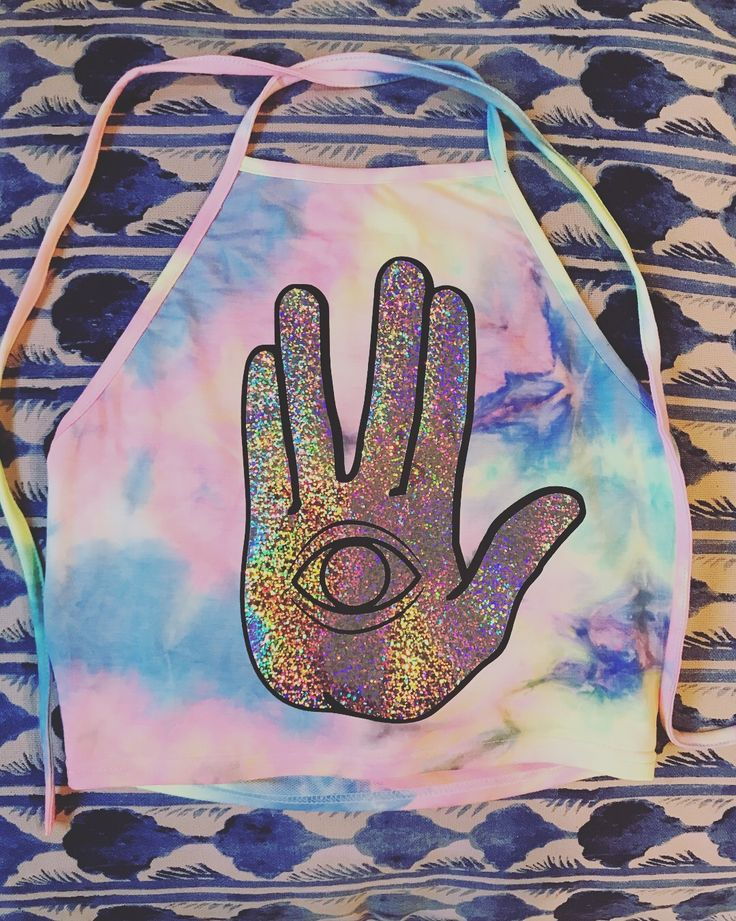 Rezz Holographic crop top  Electric daisy carnival Edc  Insomniac  Electric forest Raver Rave girl Rave outfit  Festival clothing