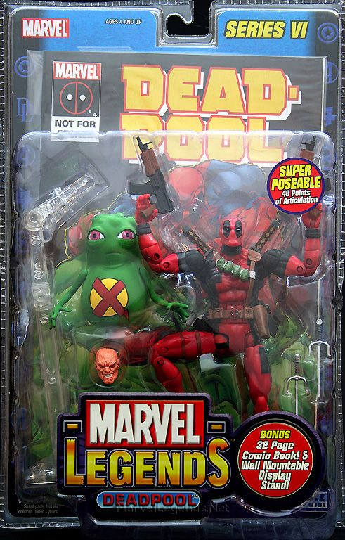 Marvel Legends Series 6 Deadpool